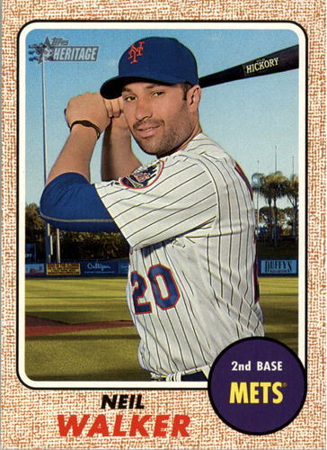 Photo of 2017 Topps Heritage #246 Neil Walker