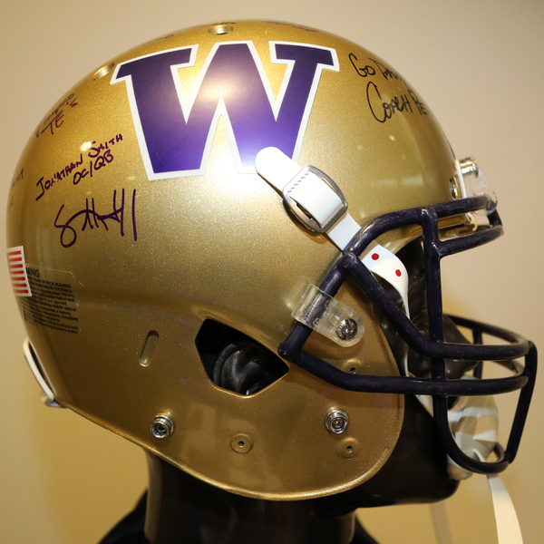 Washington Autographed Full-Size Football Helmet
