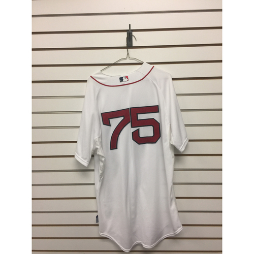 Photo of #75 Team-Issued 2014 Home Jersey