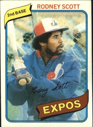 Photo of 1980 Topps #712 Rodney Scott