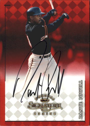 Photo of 1998 Donruss Signature Autographs #71 Dante Powell/3050*