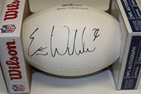 NFL - CHARGERS ERIC WEDDLE SIGNED PANEL BALL