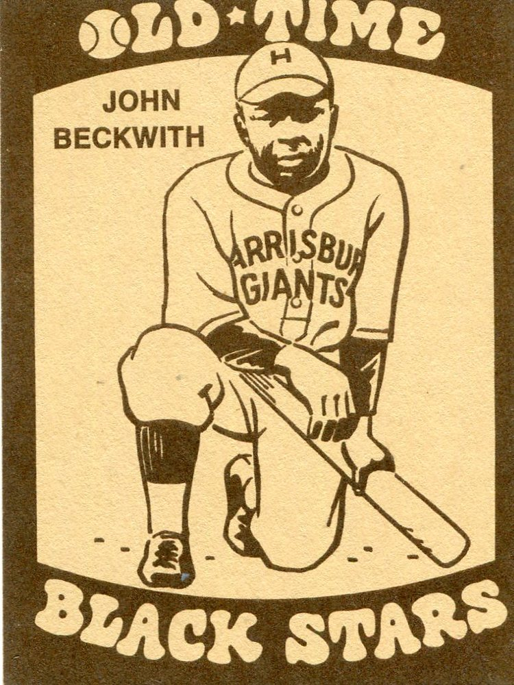 1974 Laughlin Old Time Black Stars #6 John Beckwith