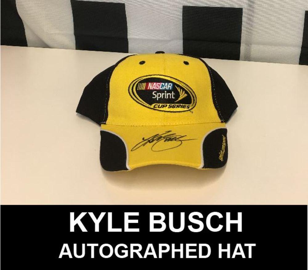 Kyle Busch Autographed Sprint Cup Series Hat