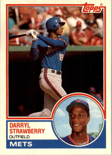 Photo of 1983 Topps Traded #108T Darryl Strawberry XRC