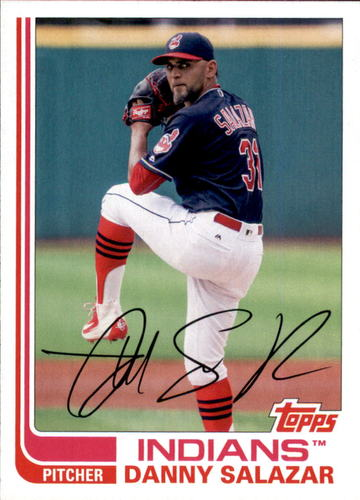 Photo of 2017 Topps Archives #111 Danny Salazar