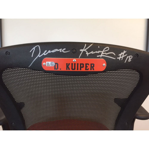 Photo of Giants End of Year Auction: Duane Kuiper Autographed Announcer Chair