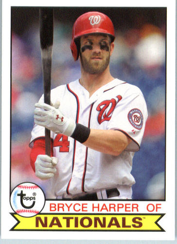 Photo of 2016 Topps Archives #200 Bryce Harper -- Nationals post-season