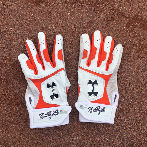 San Francisco Giants - Autographed Batting Gloves - Buster Posey (pair)