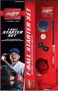 Toronto Blue Jays Youth Josh Donaldson T-Ball Starter Kit by Rawlings