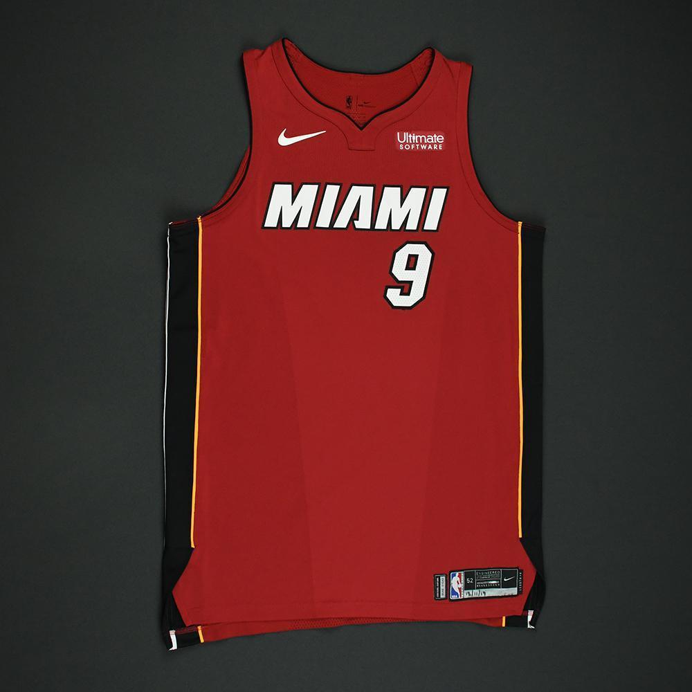 Kelly Olynyk - Miami Heat - Game-Worn 'Statement' Jersey - 2017-18 Season