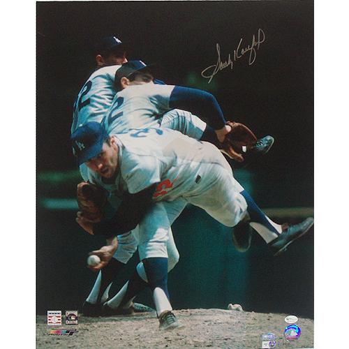 Photo of Sandy Koufax Multi Exposure 16x20 Photo (MLB Auth)