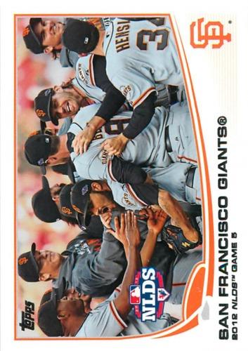 Photo of 2013 Topps #260 San Francisco Giants