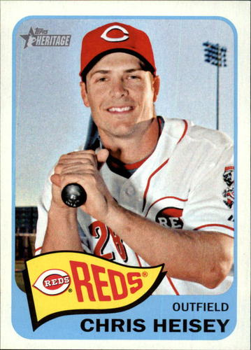 Photo of 2014 Topps Heritage #97 Chris Heisey