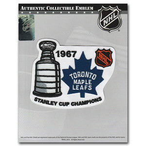 Toronto Maple Leafs 1967 Stanley Cup Champions Jersey Patch