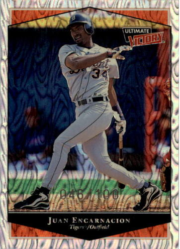Photo of 1999 Ultimate Victory Parallel 100 #44 Juan Encarnacion