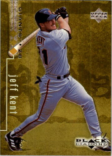 Photo of 1999 Black Diamond Triple #75 Jeff Kent