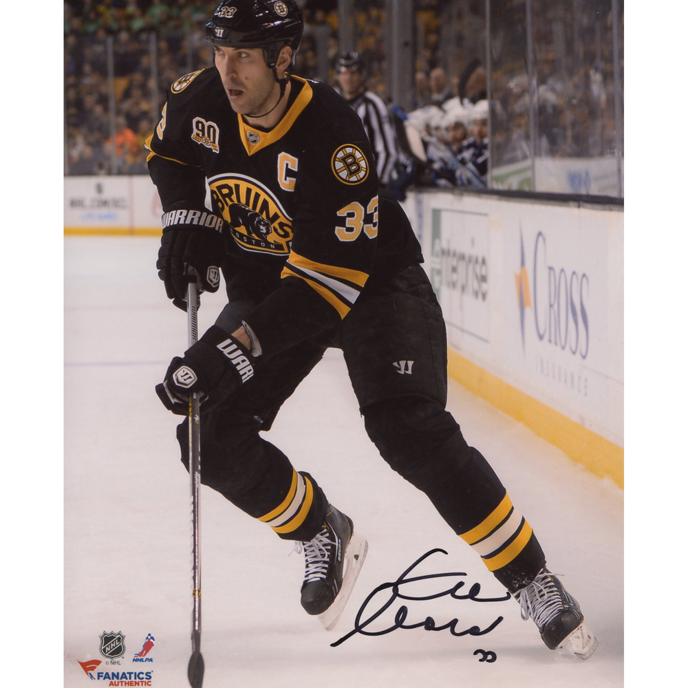 Zdeno Chara Boston Bruins Autographed 8