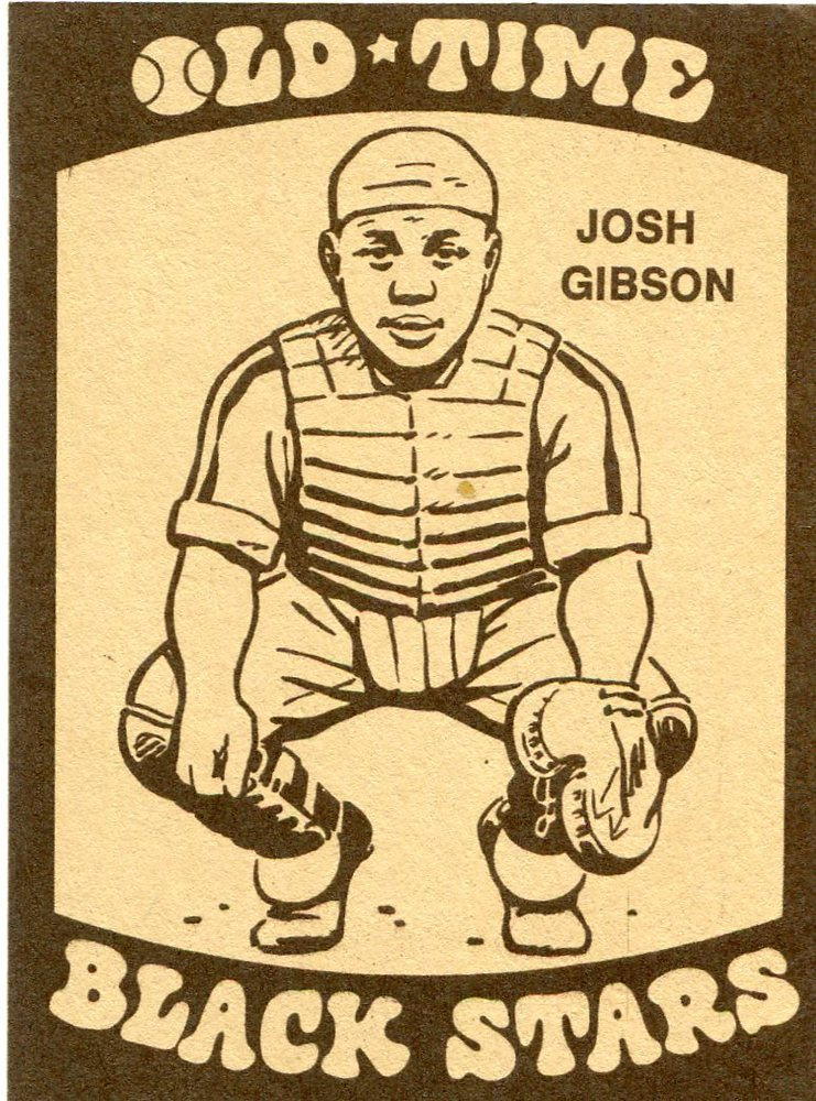 1974 Laughlin Old Time Black Stars #8 Josh Gibson