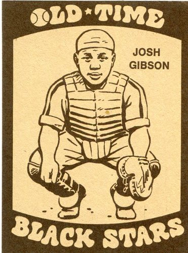 Photo of 1974 Laughlin Old Time Black Stars #8 Josh Gibson