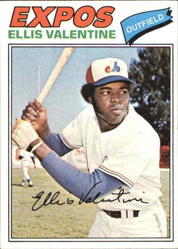 Photo of 1977 Topps #52 Ellis Valentine