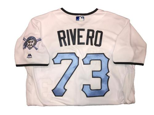 Photo of Felipe Rivero Game-Used Father's Day Weekend Jersey - Worn on 6/17 & 6/18