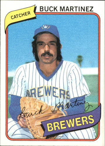 Photo of 1980 Topps #477 Buck Martinez