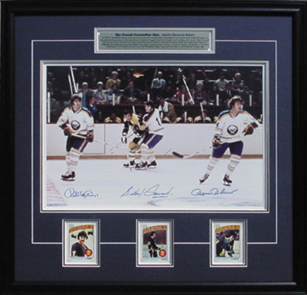 Perreault/Robert/Martin Signed 16x20 Frnch Connection