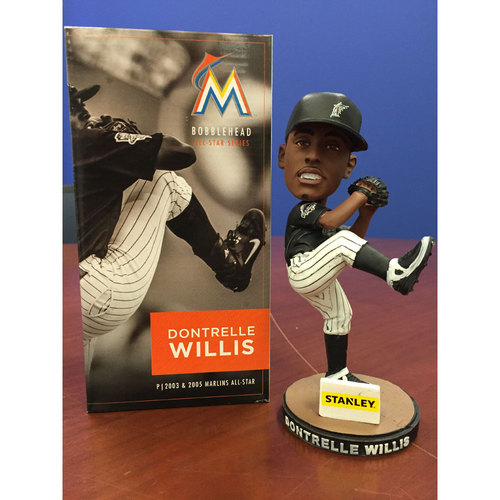 Photo of Marlins Charity Auction, Dontrelle Willis Bobblehead