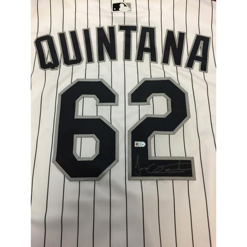 Photo of Sox Pride Club 2016 Auction: Jose Quintana Autographed Jersey