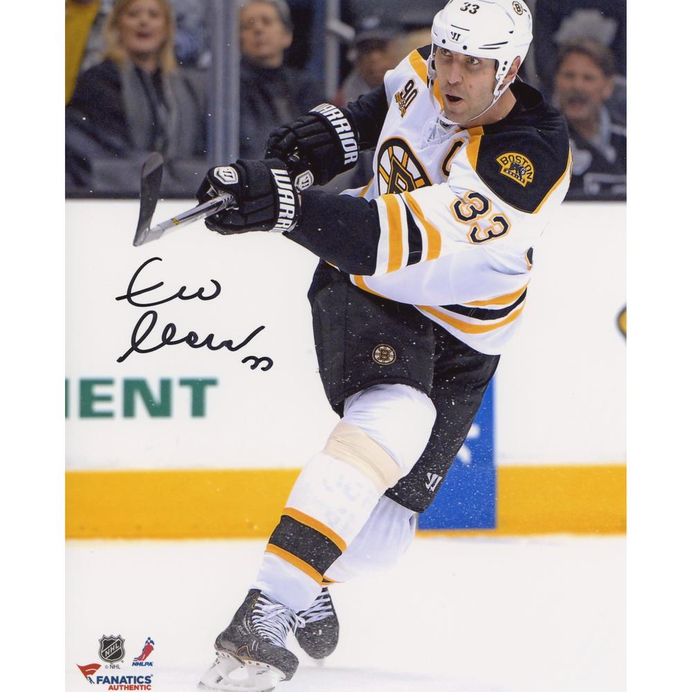 Zdeno Chara Boston Bruins Autographed 8