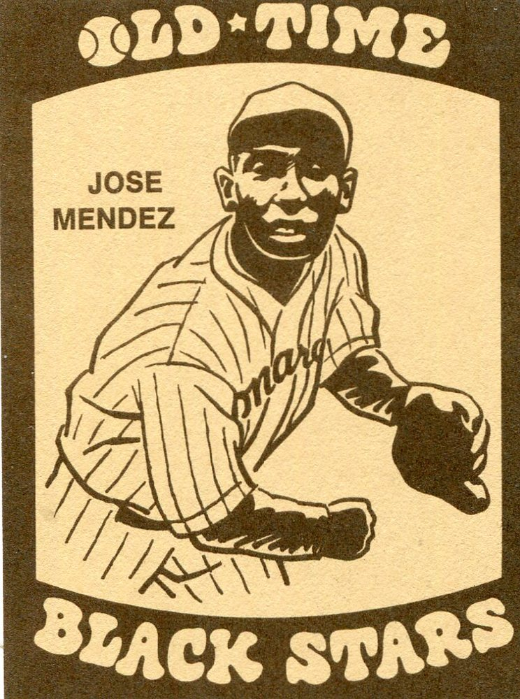 1974 Laughlin Old Time Black Stars #9 Jose Mendez