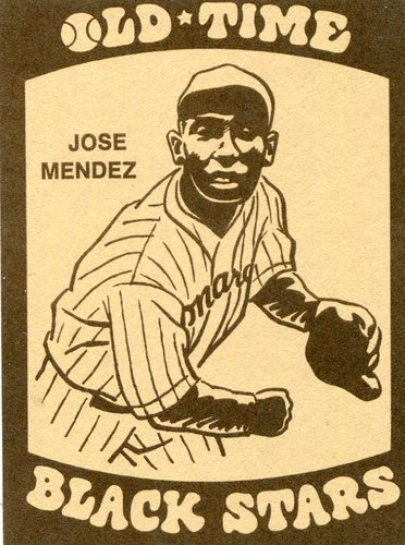 Photo of 1974 Laughlin Old Time Black Stars #9 Jose Mendez
