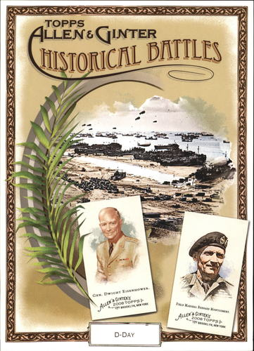 Photo of 2008 Topps Allen and Ginter Cabinet Boxloader #HB5 General Dwight Eisenhower/Field Marshal Bernard M