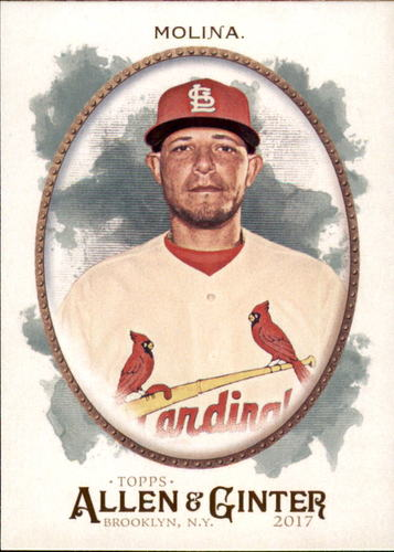 Photo of 2017 Topps Allen and Ginter #221 Yadier Molina