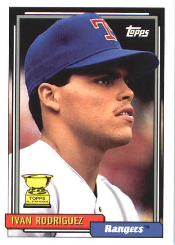 Photo of 2017 Topps Update All Rookie Cup #ARC15 Ivan Rodriguez