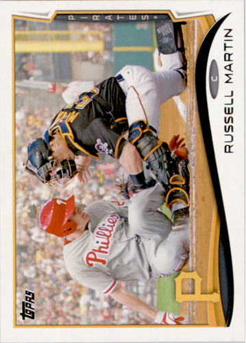 Photo of 2014 Topps #360 Russell Martin