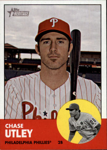 Photo of 2012 Topps Heritage #221A Chase Utley