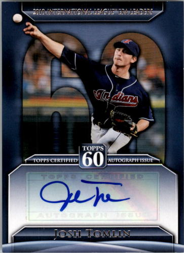 Photo of 2011 Topps 60 Autographs #JT Josh Tomlin S2