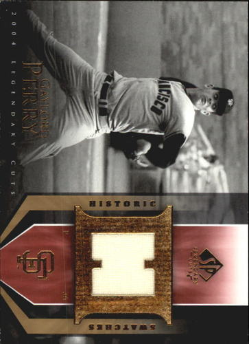 Photo of 2004 SP Legendary Cuts Historic Swatches #GP Gaylord Perry Jsy