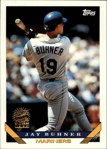 Photo of 1993 Topps Inaugural Marlins #718 Jay Buhner