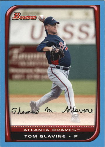 Photo of 2008 Bowman Blue #41 Tom Glavine