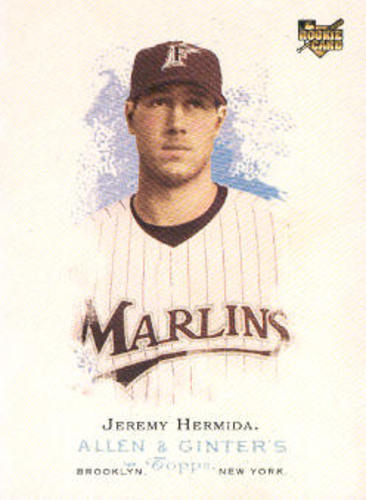 Photo of 2006 Topps Allen and Ginter #82 Jeremy Hermida (RC)