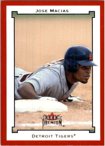 Photo of 2002 Fleer Premium Star Ruby #182 Jose Macias