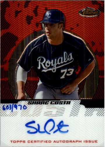 Photo of 2005 Finest #145 Shane Costa AU/970 RC