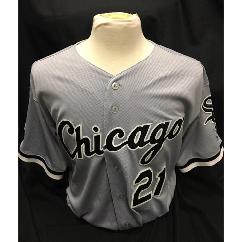 Photo of Todd Frazier Team-Issued Grey Road Jersey
