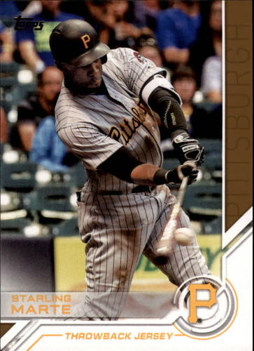 Photo of 2017 Topps Salute #S177 Starling Marte