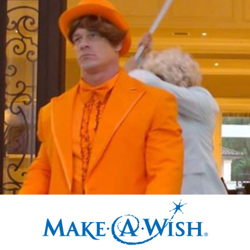 Photo of John Cena Worn Orange Tuxedo Halloween Costume