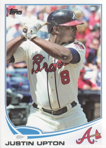 Photo of 2013 Topps Update #US140A Justin Upton