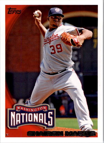 Photo of 2010 Topps #193 Shairon Martis
